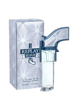 Apa de toaleta Replay Relover, 80 ml, pentru barbati de la Replay