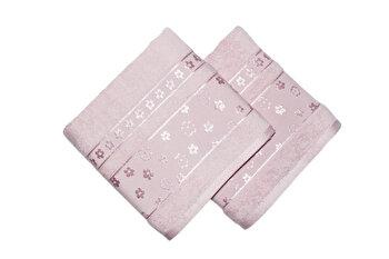 Set doua prosoape de maini, Bahar Class Home Collection, 339BHR1240, Roz de la Bahar Class Home Collection