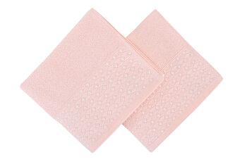 Set doua prosoape de maini, Soft Kiss Noktal, 330SFT1235, Roz de la Soft Kiss