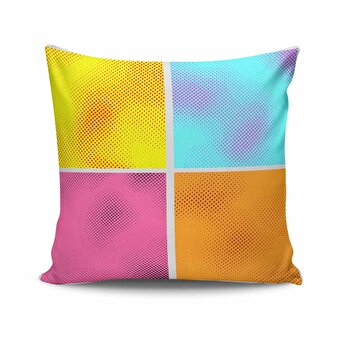 Perna decorativa Kissy, 422KSY0175, Multicolor