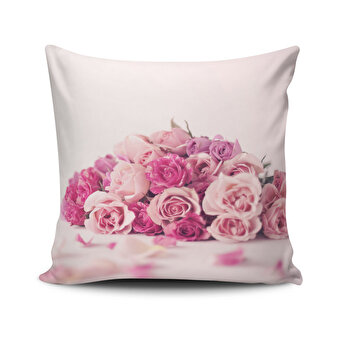 Fata de perna Cushion Love, 768CLV0349, 45 x 45 cm, Multicolor de la Cushion Love