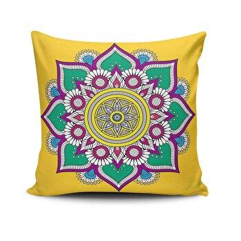 Fata de perna Cushion Love, 768CLV0482, 45 x 45 cm, Multicolor