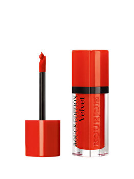 Ruj de buze Bourjois Rouge Edition Velvet, Poppy Days, 7.7 ml de la Bourjois