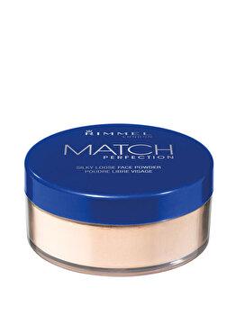 Pudra pulbere Rimmel London Match Perfection Translucent, 10 g de la Rimmel