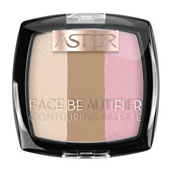 Paleta de Conturare Astor Face Beautifier, 001 Light, 9.2 g