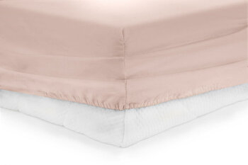 Cearceaf de pat cu elastic, Heinner, HR-ZSHEET-140PK, 140×200 cm, bumbac de la Heinner