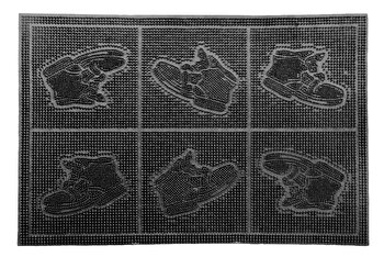 Covoras intrare, Vanora, VN-MCF-40-60B, 40 x 60 cm, cauciuc, Negru de la Vanora