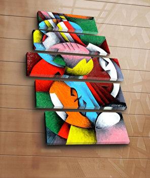 Tablou decorativ Bonanza, 242BNZ5207, Multicolor