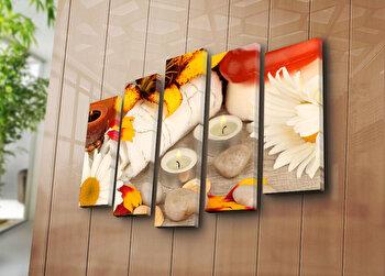Tablou decorativ canvas Bonanza, 242BNZ5254, Multicolor