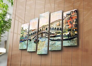Tablou decorativ Bonanza, 242BNZ4271, Multicolor