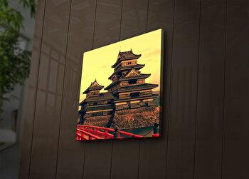 Tablou decorativ canvas cu leduri Ledda, 254LED1290, Multicolor