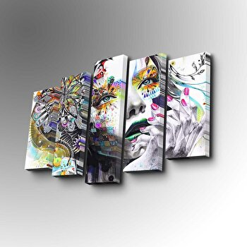 Tablou decorativ Art Five, 747AFV1362, Multicolor