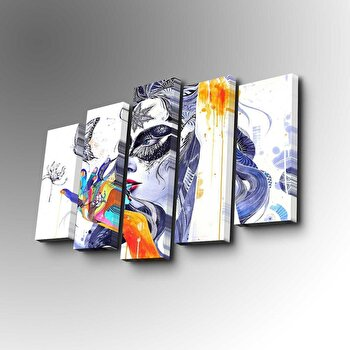 Tablou decorativ Art Five, 747AFV1364, Multicolor de la Art Five