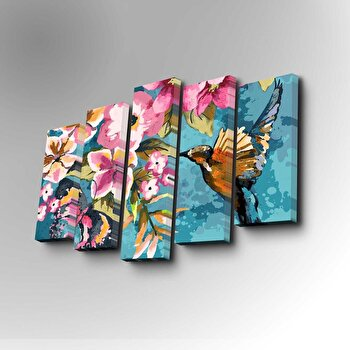 Tablou decorativ Art Five, 747AFV1202, Multicolor de la Art Five