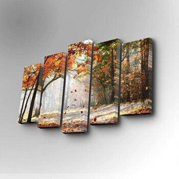 Tablou decorativ Art Five, 747AFV1220, Multicolor de la Art Five