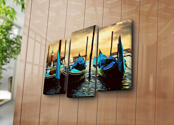 Tablou decorativ canvas Bonanza, 242BNZ3251, Multicolor