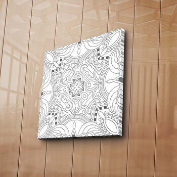 Tablou decorativ de colorat, canvasMy Design, 749MDN1207, Multicolor de la My Design