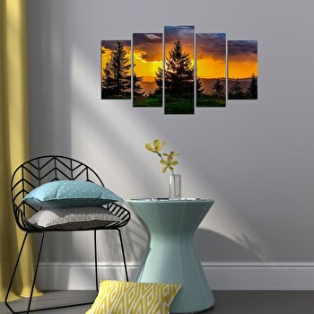 Tablou decorativ Charm, 223CHR3910, Multicolor