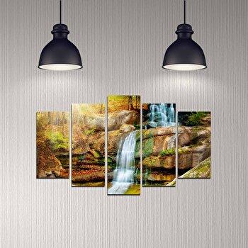 Tablou decorativ 5 Piese, Melody, 232MLD1987, Multicolor de la Melody