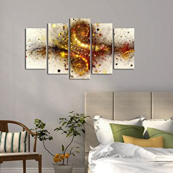 Tablou decorativ (5 Piese) Pure, 250PUR1908, Multicolor