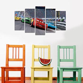 Tablou decorativ (5 Piese) Taffy, 241TFY1914, Multicolor de la Taffy