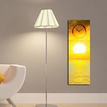 Tablou decorativ cu ceas Clockity, 248CTY1623, Multicolor