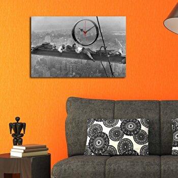 Tablou decorativ cu ceas Clockity, 248CTY1642, Multicolor