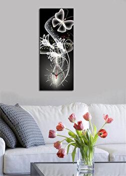 Tablou decorativ cu ceas Clock Art, 228CLA1643, Multicolor de la Clock Art