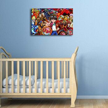 Tablou decorativ canvas Taffy, 241TFY1263, Multicolor de la Taffy