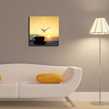 Ceas decorativ de perete Home Art, 238HMA3166, Multicolor de la Home Art