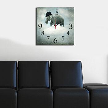 Ceas decorativ de perete Home Art, 238HMA3179, Multicolor
