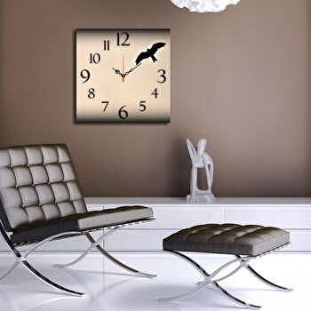Ceas decorativ de perete Home Art, 238HMA3190, Multicolor de la Home Art