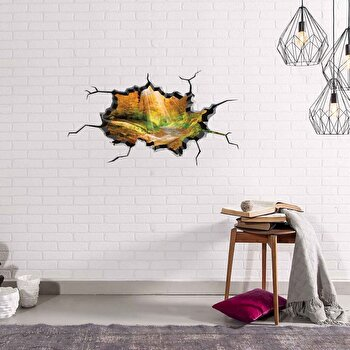 Sticker decorativ pentru perete Wall 3D, 259DWL1016, Multicolor de la Wall 3D