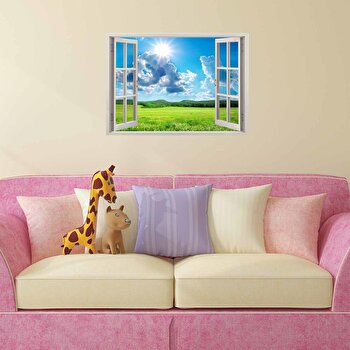 Sticker decorativ pentru perete Wall 3D, 259DWL1067, Multicolor de la Wall 3D