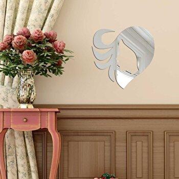 Oglinda decorativa Desire, 234DSR2845, Argintiu de la Desire
