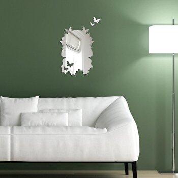 Oglinda decorativa Desire, 234DSR2847, Argintiu de la Desire