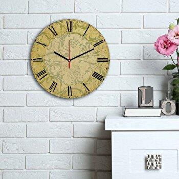 Ceas decorativ de perete Home Art, 238HMA6125, Multicolor