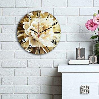 Ceas decorativ de perete Home Art, 238HMA6158, Multicolor