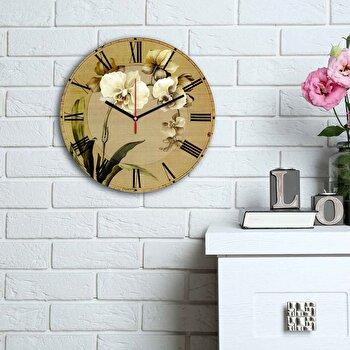 Ceas decorativ de perete Home Art, 238HMA6167, Multicolor