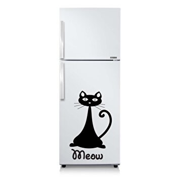 Sticker decorativ pentru perete Fun in Kitchen, 748FUK1003, Negru de la Fun in Kitchen