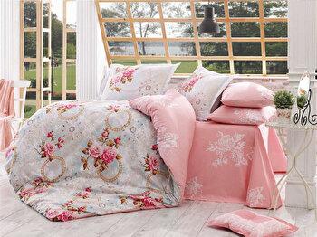 Lenjerie dubla de pat, Hobby, 113HBY2459, Multicolor