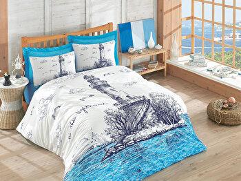 Lenjerie de pat, Cotton Box, 129CTN2466, Multicolor de la Cotton Box
