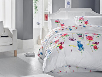 Lenjerie de pat, Cotton Box, 129CTN2405, Multicolor de la Cotton Box