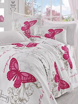 Set lenjerie de pat, Eponj Home, 143EPJ5435, Multicolor de la Eponj Home