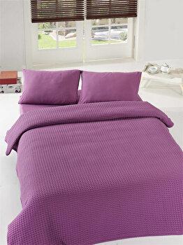 Cuvertura de pat, Eponj Home, 143EPJ5610, Maro