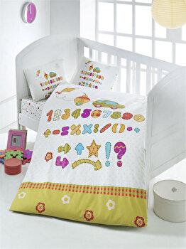 Lenjerie de pat pentru copii, Victoria, 121VCT2001, Multicolor de la Victoria