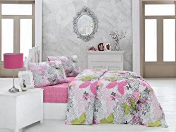 Cuvertura de pat, Victoria, 121VCT5104, Multicolor de la Victoria