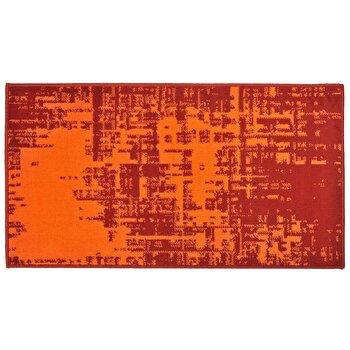 Covor Decorino Modern & Geometric C04-020109, Portocaliu/Rosu, 80×150 cm de la Decorino