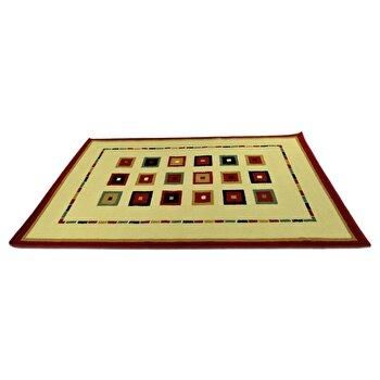 Covor Decorino Modern & Geometric C97-030213, Bej/Multicolor, 160×235 cm de la Decorino