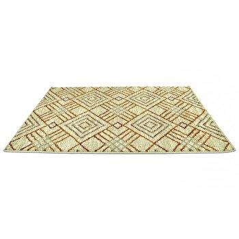 Covor Decorino Modern & Geometric C23-030602, Bej/Maro, 100×150 cm de la Decorino